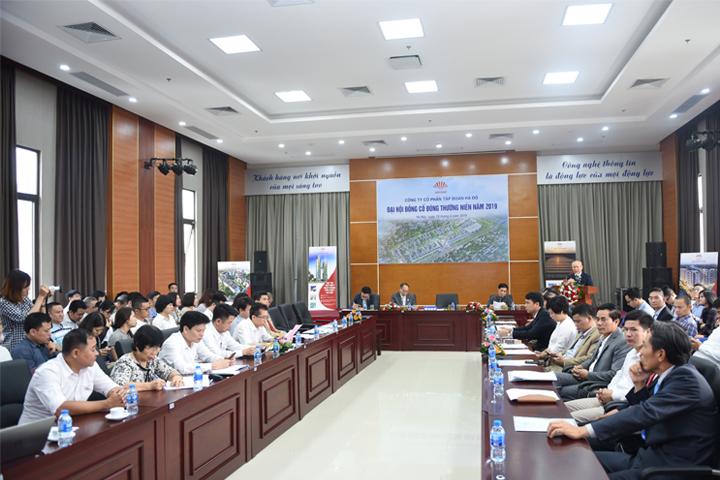 CTCP Tập Đoàn Hà Đô tổ chức thành công đại hội cổ đông thường niên 2019