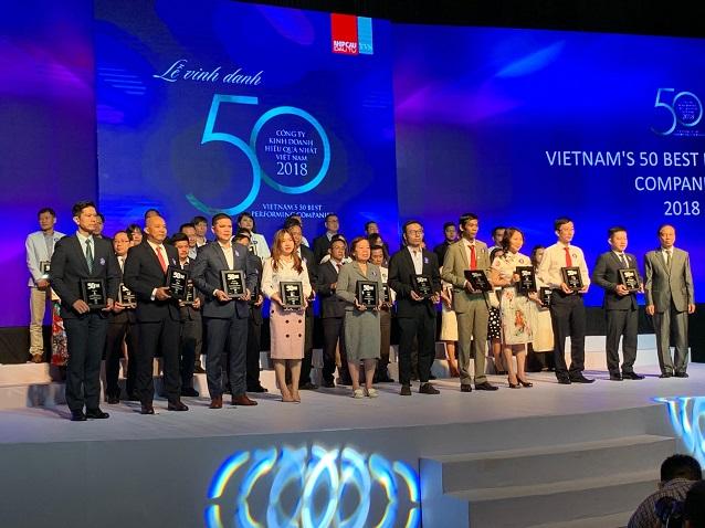 Tập đoàn Hà Đô lần thứ 6 vào top 50 Công ty Kinh Doanh hiệu quả nhất Việt Nam